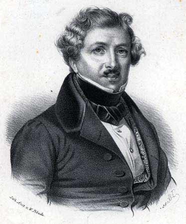 Луи, Жак, Манде, Дагер, первая фотография, изобретатель